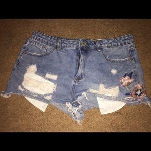 Papaya Jean Shorts!